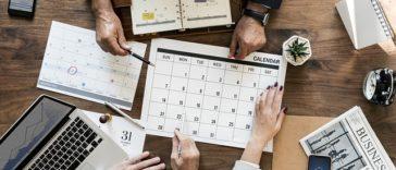 calendrier éditorial